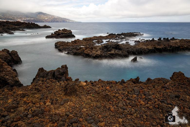 Langzeitaufnahme - Küste, La Palma, Kanaren