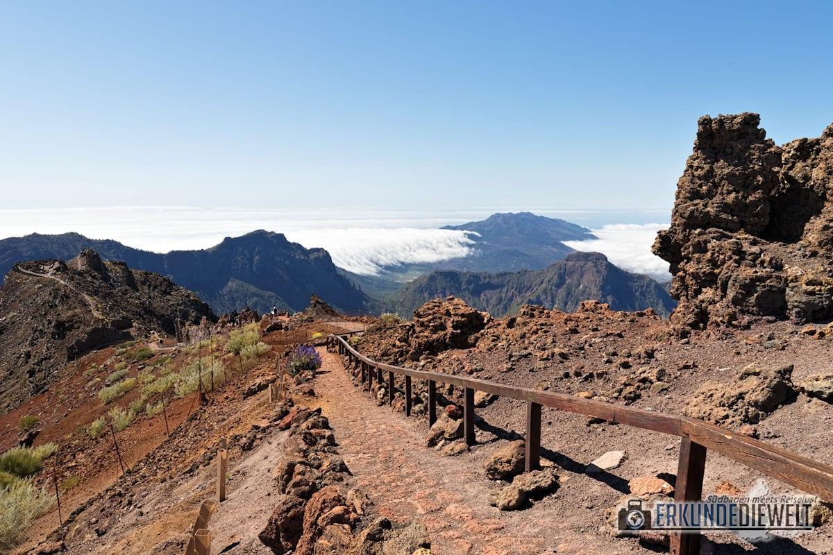 Mirador del Roque de Los Muchachos, La Palma, Kanaren