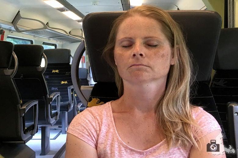 gemütliche Sitze im bwegt Zug
