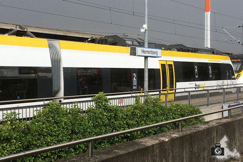 bwegt Zug steht in Herrenberg