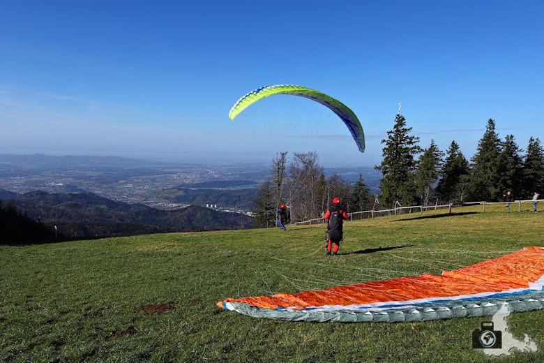 Auf dem Kandel hoch über dem Glottertal im Schwarzwald