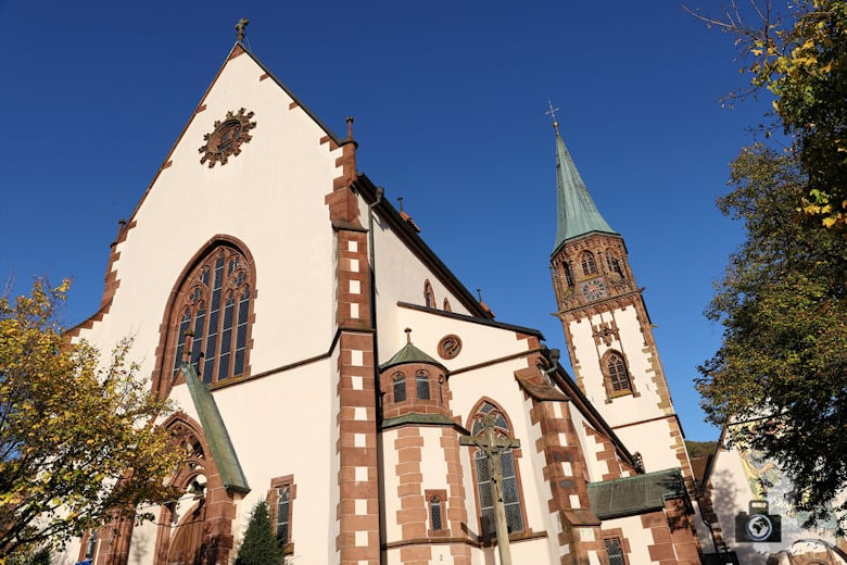 Kirche in Glottertal im Schwarzwald