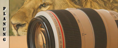 Fotoausrüstung für Safaris Tipps