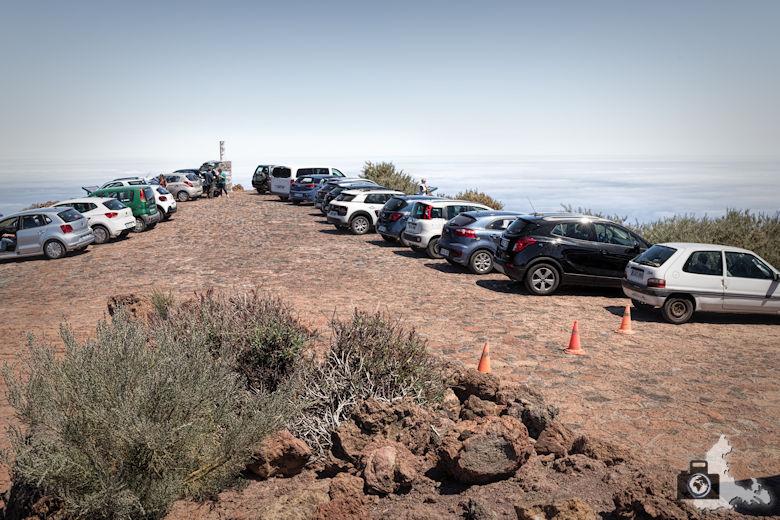 Reisebericht La Palma - Mirador del Roque de los Muchachos - Parkplatz