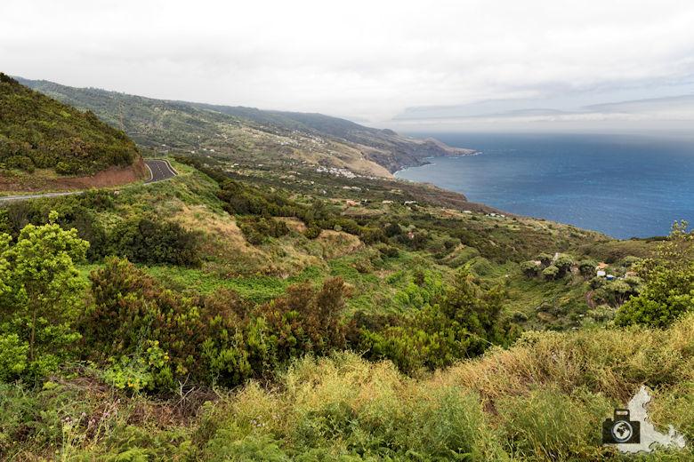 La Palma, Nordseite der Insel