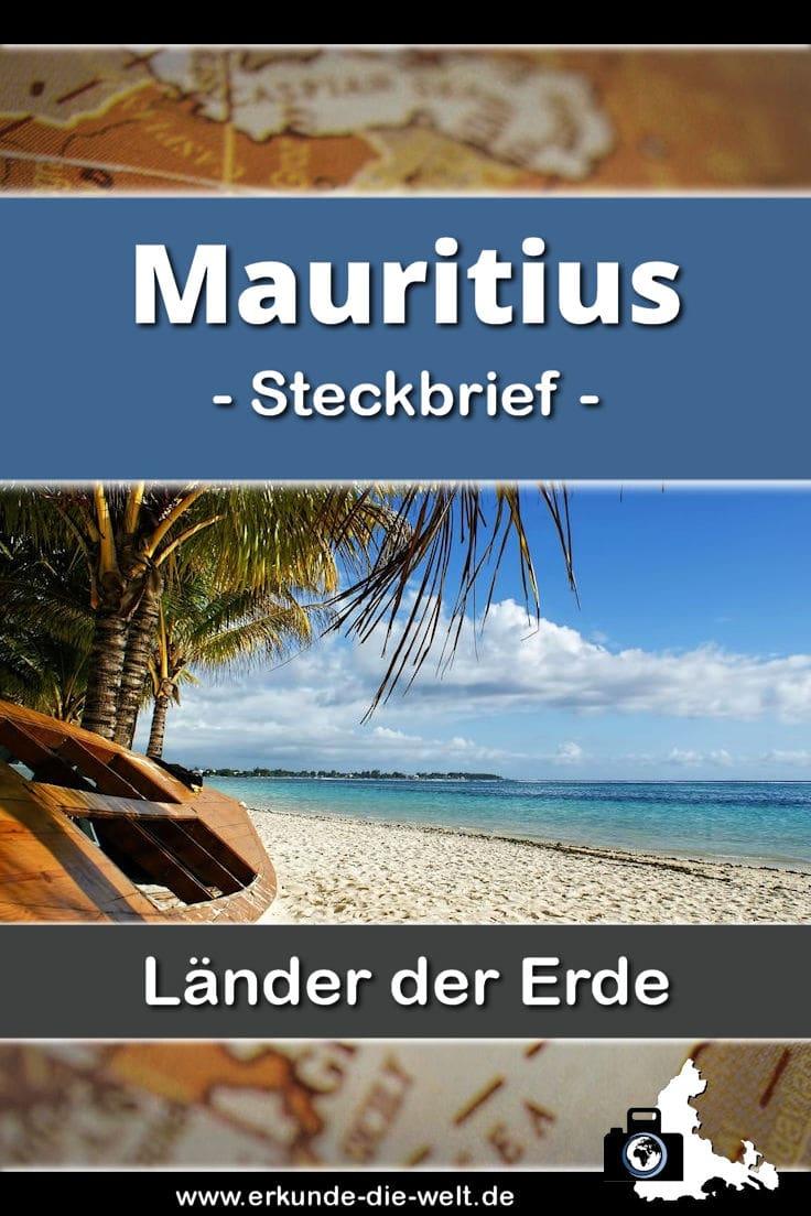 Steckbrief Mauritius