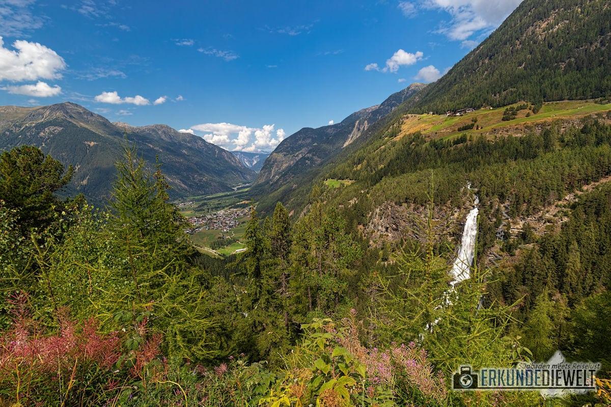 Stuibenfall, Ötztal, Österreich