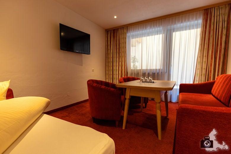 Alpenhof Hotel Garni in Zell am Ziller - Wohnzimmer