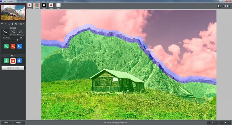 Bildbearbeitung - Maskieren mittels Topaz ReMask