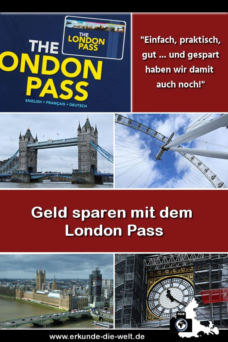Geld sparen mit dem London Pass - ein Erfahrungsbericht