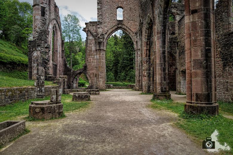Die schönsten Kirchen und Klöster im Schwarzwald - Klosterruine Allerheiligen