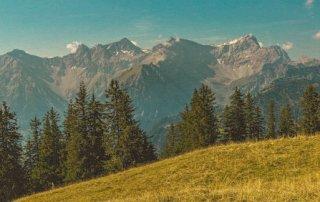 Loischkopf Wanderung im Brandnertal in Österreich