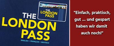 Geld sparen mit dem London Pass