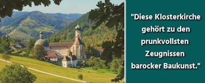 Die schönsten Kirchen und Klöster im Schwarzwald
