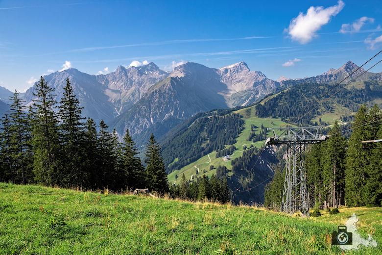 Bergpanorama Österreich