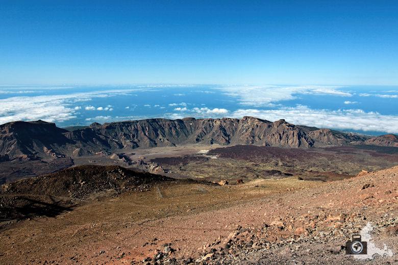 Landschaftsfotografie: Berglandschaften und Berge fotografieren - Bergpanorama Teide Nationalpark