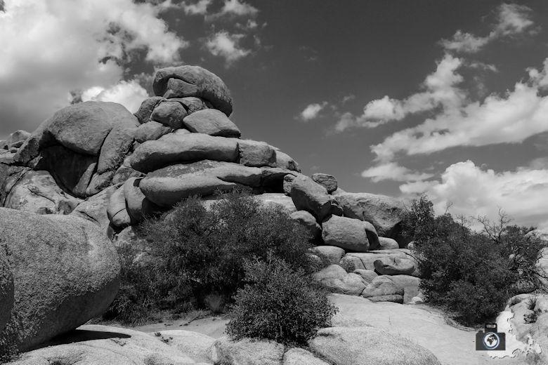 Landschaftsfotografie: Berglandschaften und Berge fotografieren - Felsen im Joshua Tree Nationalpark