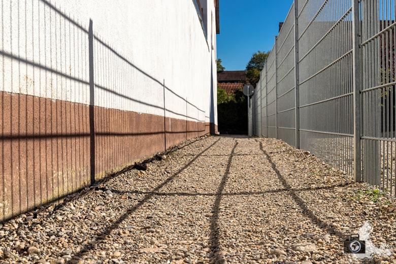 Fotowalk #8 - Licht & Schatten - Zaun