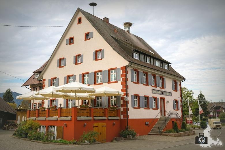 Wanderung Dreisamtal - Kapellenweg Stegen - Landgasthof Bären in Zarten