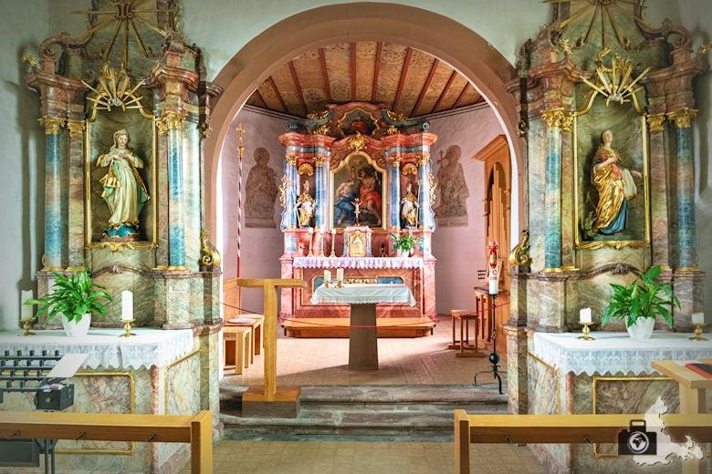 Wanderung Dreisamtal - Kapellenweg Stegen - Johanneskapelle in Zarten