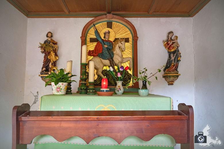 Wanderung Dreisamtal - Kapellenweg Stegen - Laubiskapelle in Burg