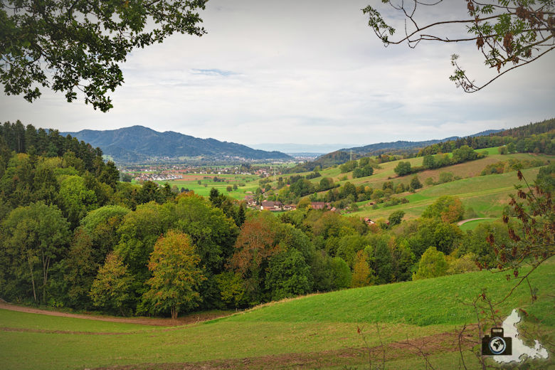 Wanderung Dreisamtal - Kapellenweg Stegen - Landschaft