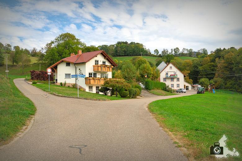 Wanderung Dreisamtal - Kapellenweg Stegen - Bauernhof