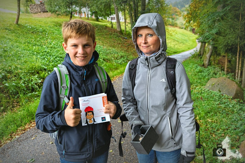 Annis Schwarzwald Geheimnis Baiersbronn - Auf dem Spuren von Avalee - Rätsel 1 gelöst