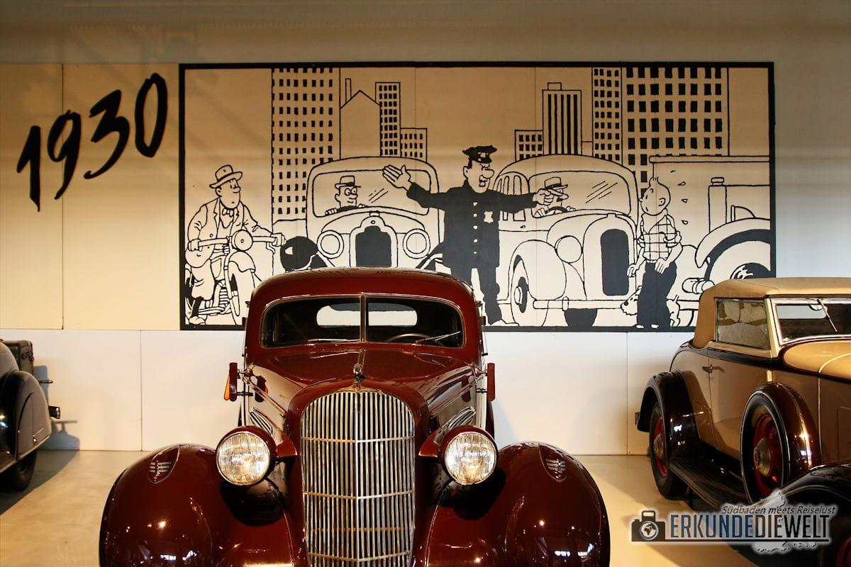 Automobilmuseum, Brüssel, Belgien