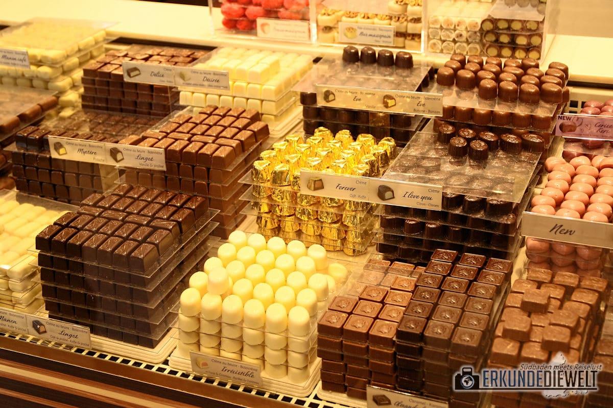 Schokolade, Brüssel, Belgien