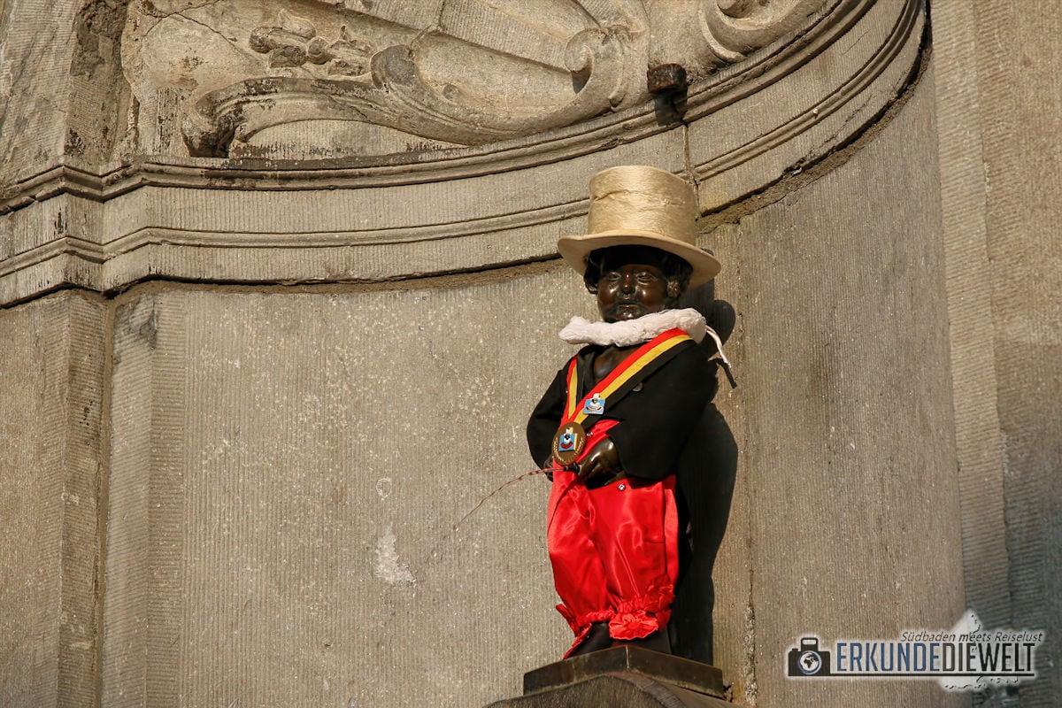 Manneken Pis, Brüssel, Belgien