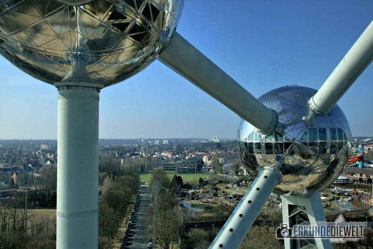 Atomium, Brüssel, Belgien