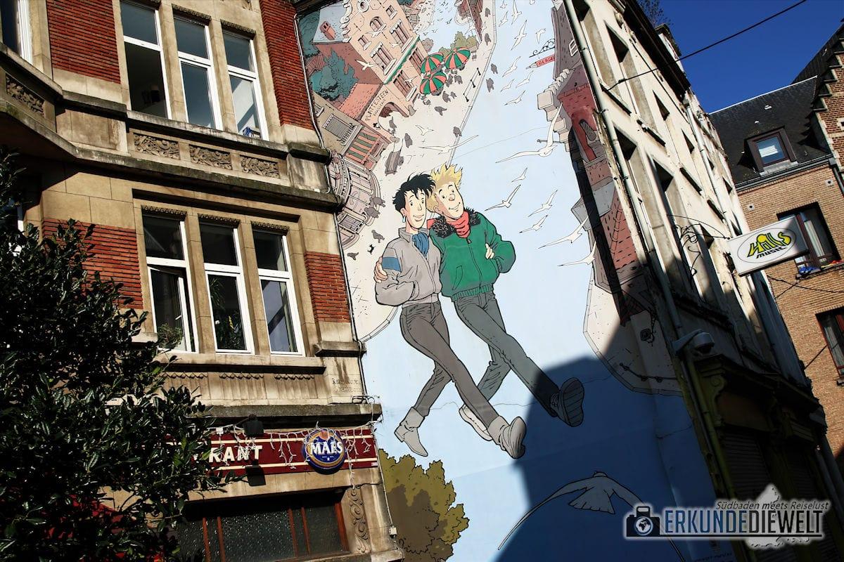 Comics, Brüssel, Belgien