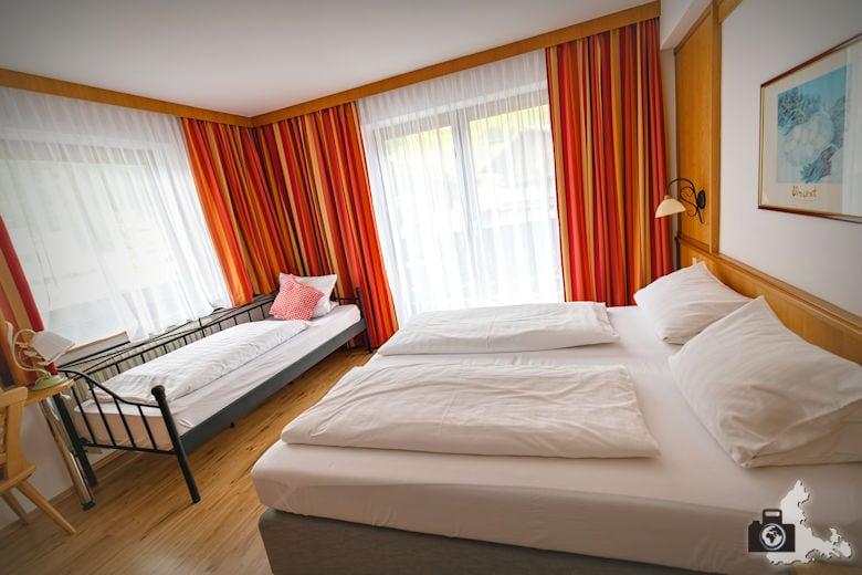 Zimmer in der Frühstückspension Oberreitner in Fusch an der Großglocknerstraße, Österreich