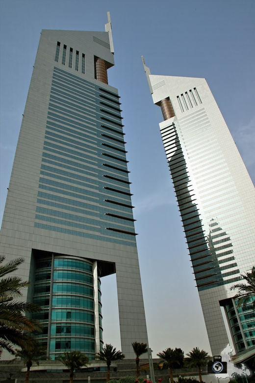 Fotografieren in Dubai - Jumeirah Emirates Towers