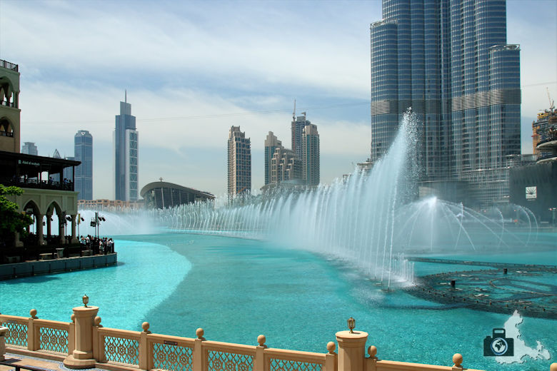 Fotografieren in Dubai - Dubai Fountains