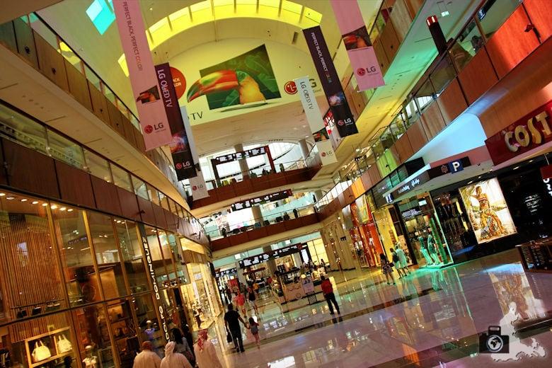 Fotografieren in Dubai - Dubai Mall