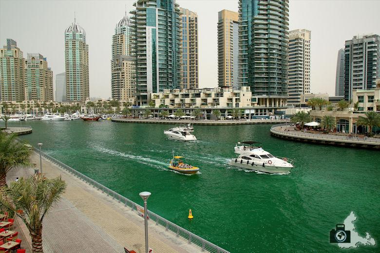 Fotografieren in Dubai - Dubai Marina Yachthafen