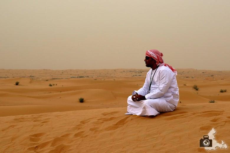 Fotografieren in Dubai - Wüstensafari