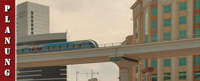 Tipps fürs Metro und Taxi fahren in Dubai