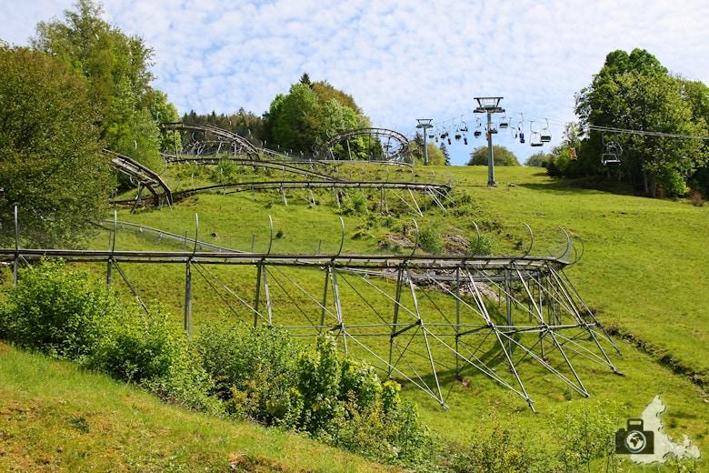 Todtnau im Schwarzwald - Hasenhorn Rodelbahn