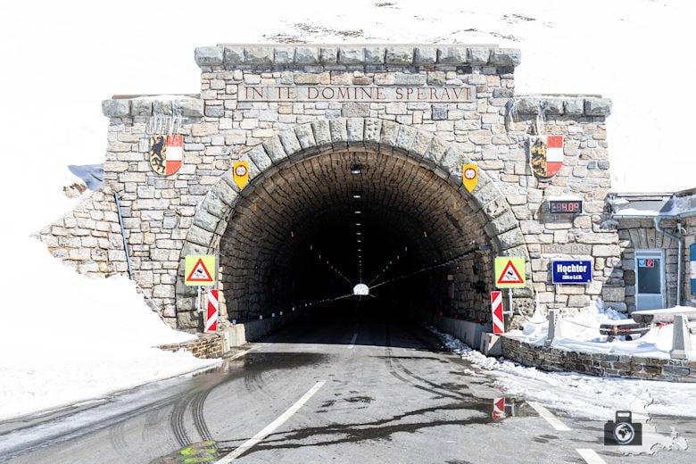 Tunnel auf der Großglockner-Hochalpenstraße, Österreich