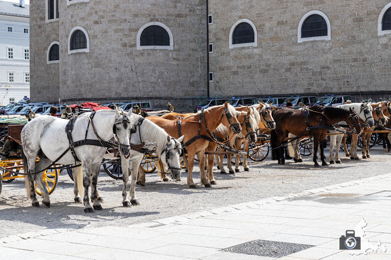 Kutschfahrt durch Salzburg