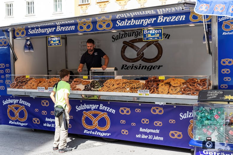 Bretzeln aus Salzburg
