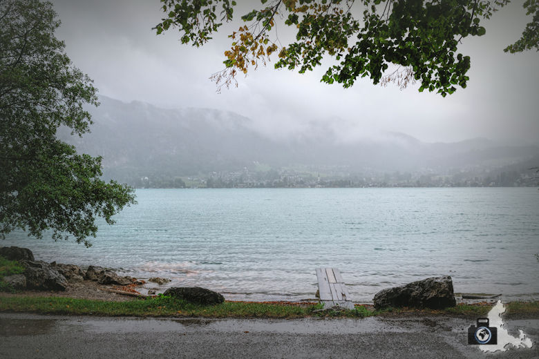 St. Gilgen am Wolfgangsee im Regen
