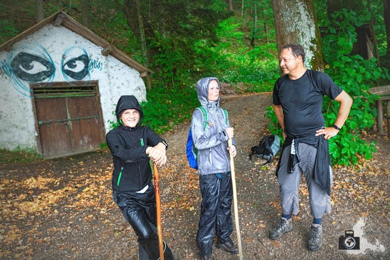 Regenwanderung mit Horst am Wolfgangsee