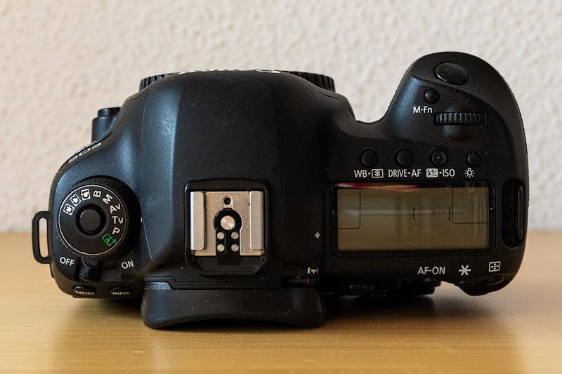 Canon EOS 5D Mark IV - Oberseite