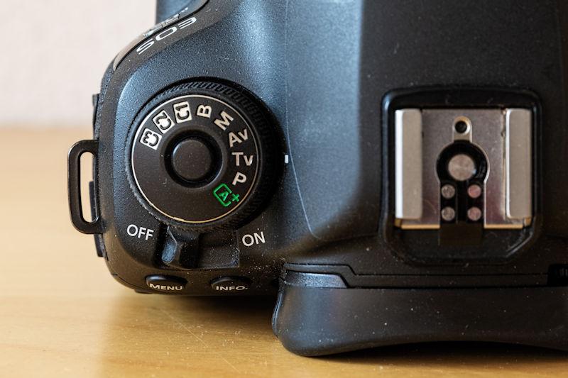Canon EOS 5D Mark IV - Programmwahlrad