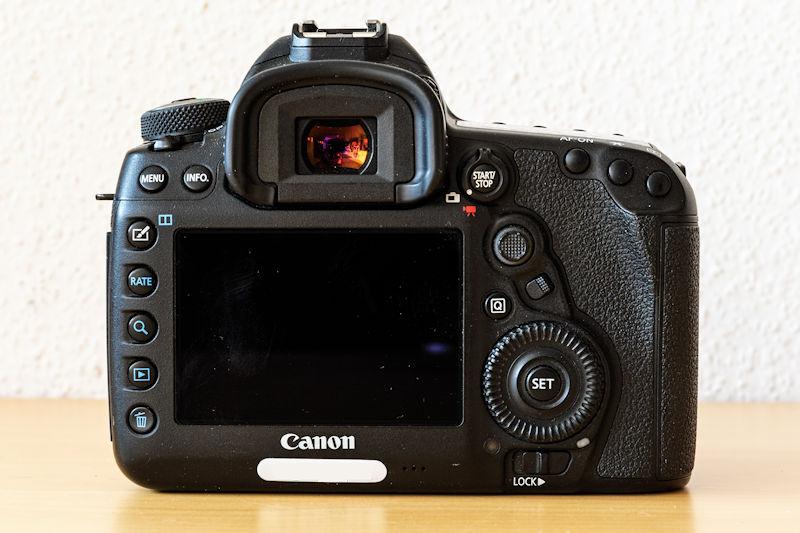 Canon EOS 5D Mark IV - Rückseite
