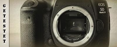 Canon EOS 5D Mark IV im Test